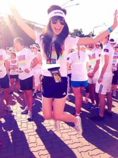 EXCITED ABOUT COLOR RUN